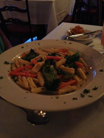 The Cranbury Inn : Cavatelle with Broccoli
