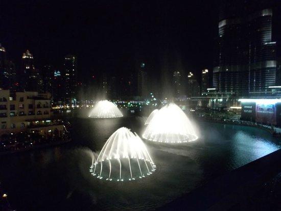 La Fuente de Dubai: fountains