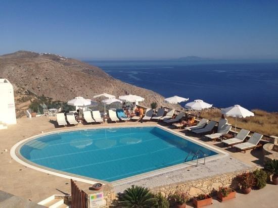 Odysseus Hotel: the view