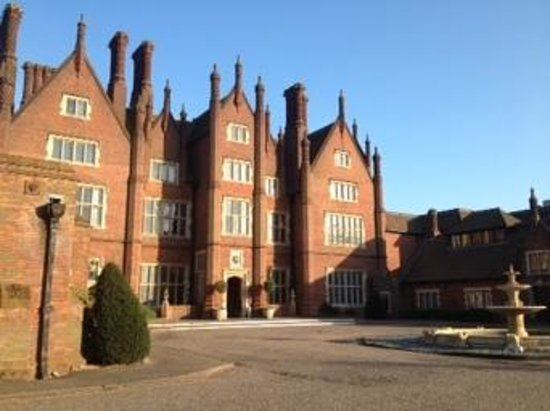 Dunston Hall: lovely place