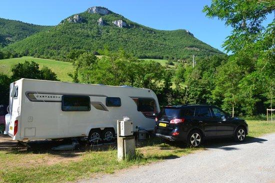 Camping Saint Lambert: Looking towards river