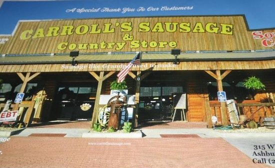 Carroll Sausage & Country Store: Carroll Meat and country store