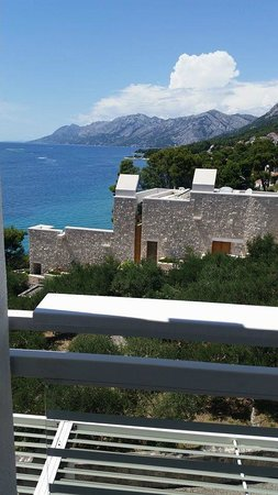 Bluesun Berulia Hotel : view from the balcony