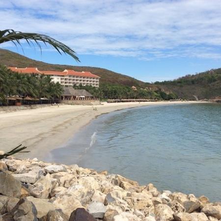 Vinpearl Nha Trang Resort : отель, вид из ресторана Кокос