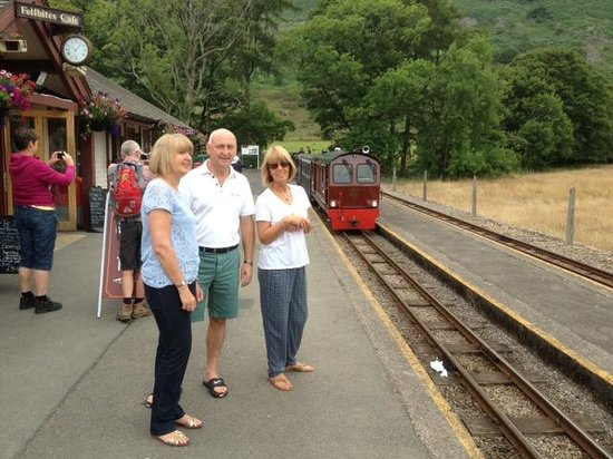 Eskdale Camping and Caravanning: Train Station