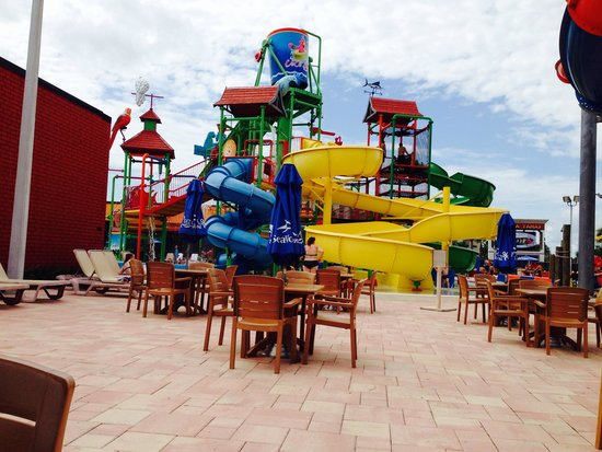 Coco Key Hotel and Water Park Resort: Water park for the bigger kids
