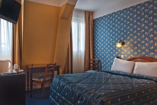 Quality Hotel Abaca Messidor Paris : Double rue