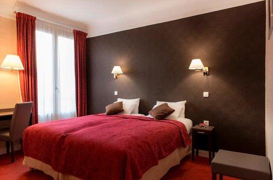 Quality Hotel Abaca Messidor Paris : Twin jardin