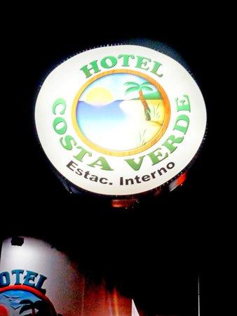 Hotel Costa Verde : placa