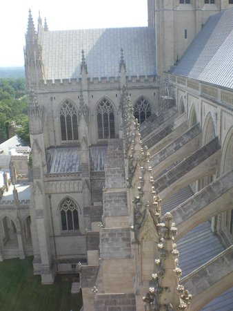 Washington National Cathedral : Upper view