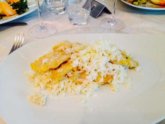Ristorante Silvio: Risotto con pesce persico