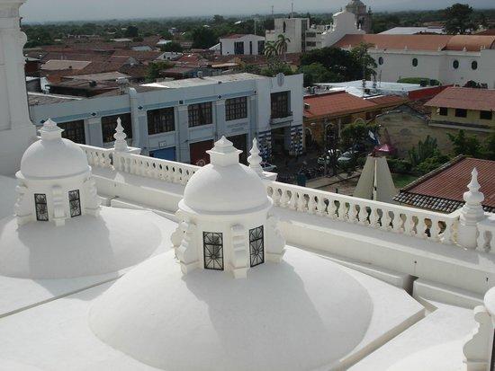Basilica Catedral de la Asuncion: Techo de la catedral