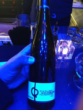 Renaissance Zurich Tower Hotel : Great wine from the hotel bar.