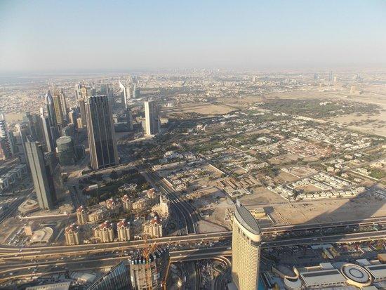 Burj Khalifa: view