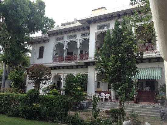 Rangniwas Palace Hotel: batiment principal