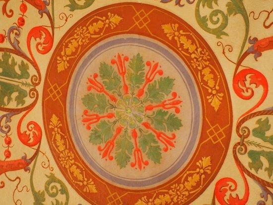 Antica Residenza Cicogna: soffitto stanza liberty