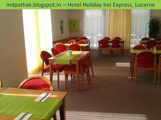 Holiday Inn Express Luzern: dining area
