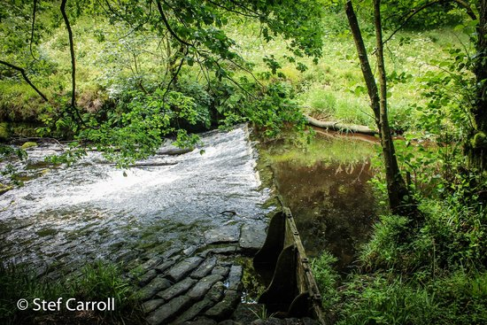 Hardcastle Crags: A lovely weir.