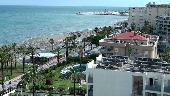 MedPlaya Hotel Pez Espada: Uitzicht op de Middellandse zee