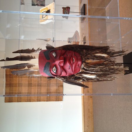 Museum of Northern British Columbia: Wild man of the woods, mask