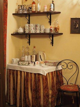 Antica Residenza Cicogna : punto ristoro a disposizione