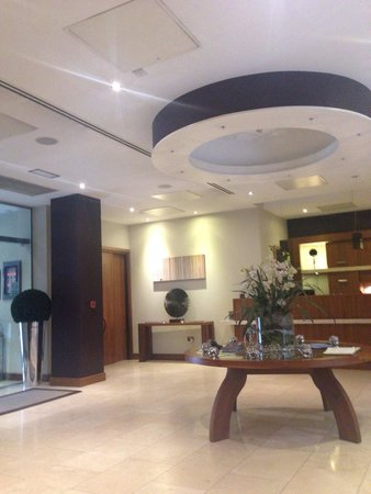 The Chambers Park Place: Reception Area, absolutely lovely.