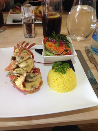 The Blue Marlin: Lobster Thermidor