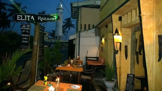 Elita Restaurant : LIGHT HOUSE VEIW