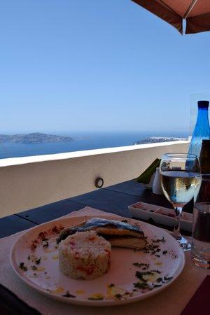 Mezzo Restaurant: Seabass!