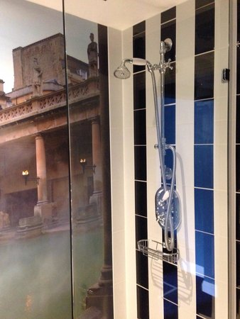 Francis Hotel Bath - MGallery by Sofitel: Great retro modern shower