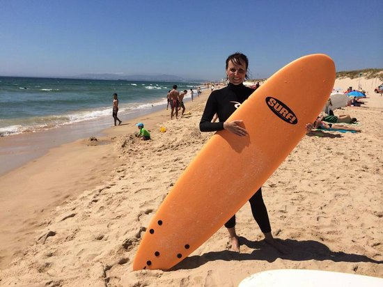 surfing with epic surf school