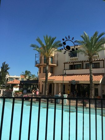 PortAventura Hotel PortAventura : Вид из окна