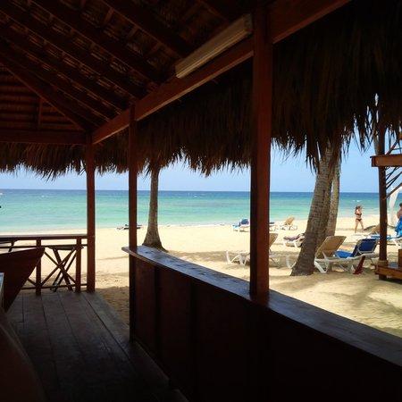 Dreams Punta Cana Resort Spa A View From The Beach Bar