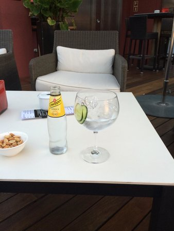 Hotel Villa Emilia : Amazing drinks