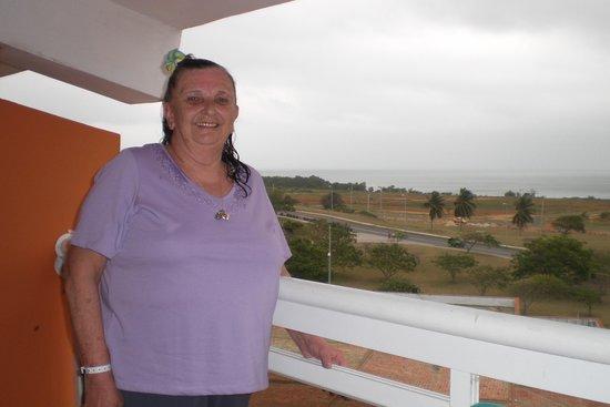 Barceló Solymar Arenas Blancas Resort: Myself on our balconey