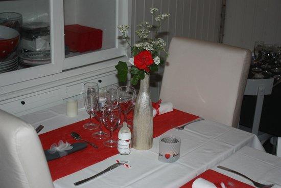 D coration int rieure photo de le napperon rouge - Napperon de cuisine ...
