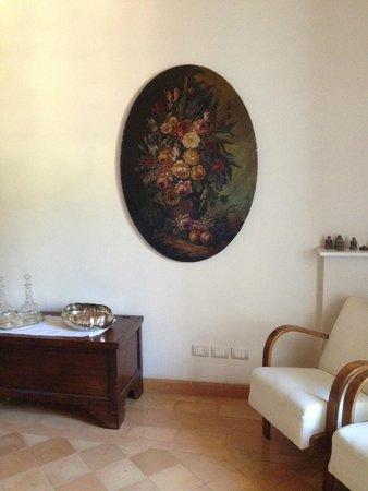 B&B San Fiorenzo : Check-in and breakfast room area