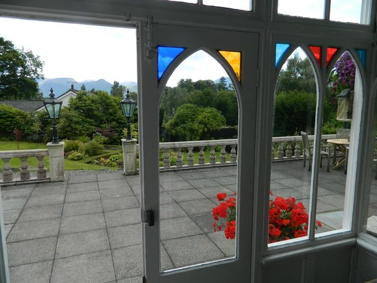 The Grange Country House : View from the Entrance vestibule