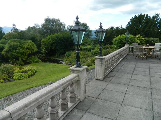 The Grange Country House : View from the Terrace