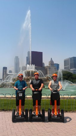Absolutely Chicago Segway Tours : thank you chelsea!....your the BEST!