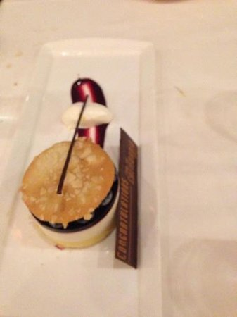 California Grill: blueberry lemon cheesecake