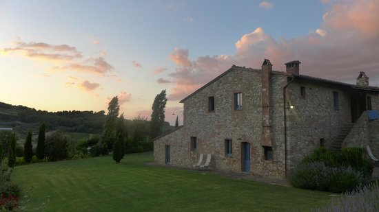 Sunset at Podere Monti