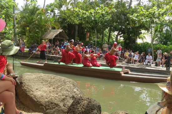 Polynesian Cultural Center : Canoe Pageant