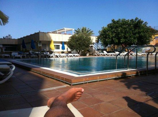 Hotel Europalace: La piscina es un excelente lugar para relajarse