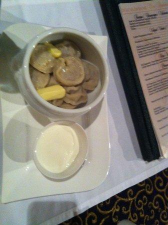 Olevi Restaurant: Dumplings