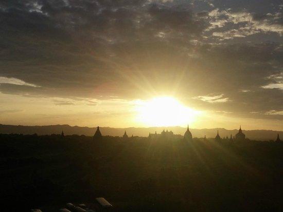 Temples de Bagan : Sunset