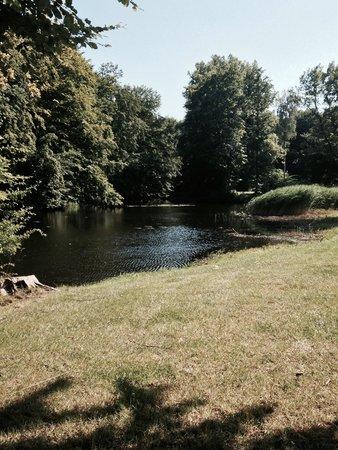 Benz, Tyskland: Garten mit Teichanlage