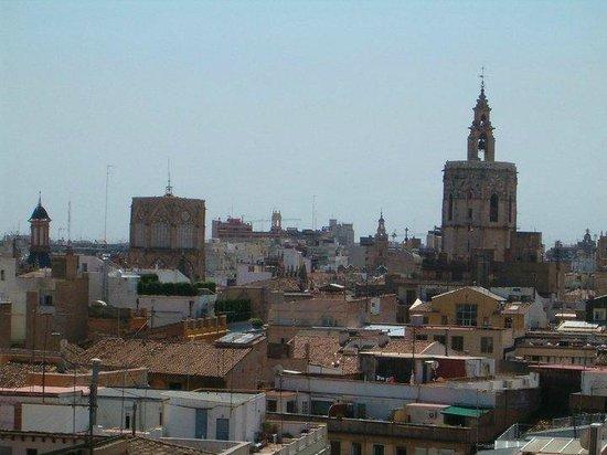 Torres de Serranos : vistas desde las torres para el centro