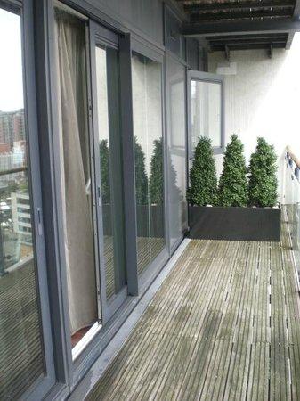 Fraser Place Canary Wharf: 1213 Balcony