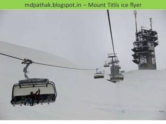 Mount Titlis: Rope way